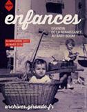 Affiche exposition Enfances news vignette